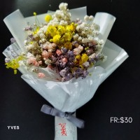 Yves ($30 Personalized Mini Bouquet)