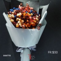 Odette ($30 Personalized Mini Bouquet)