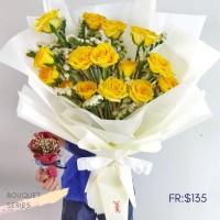$135 Personalised Sun Rosei Bouquet