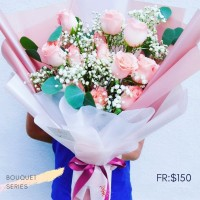$150 Personalised Rosei Baby Breath