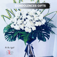 Personalized Condolences Wreaths