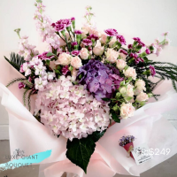 $249 Personalized Luxury Giant Bouquet 사랑해