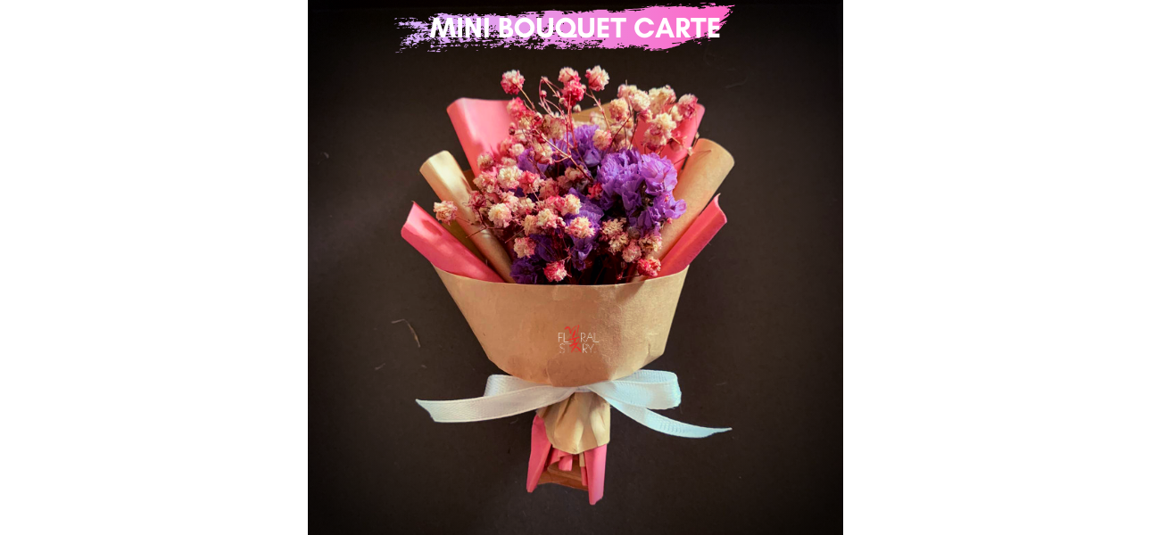 Personalized Mini Bouquet Carte