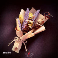 Brigitte ($25 Personalized Mini Bouquet)