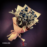 Coraline ($25 Personalized Mini Bouquet)