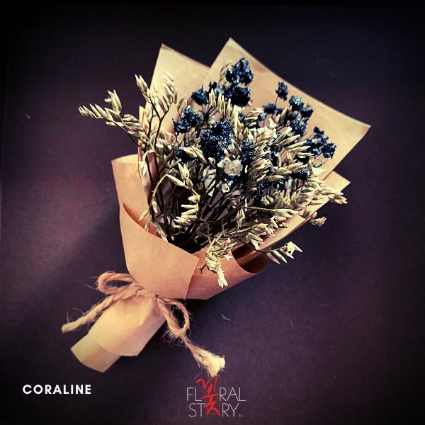 Coraline ($25 Personalized Mini Bouquet)