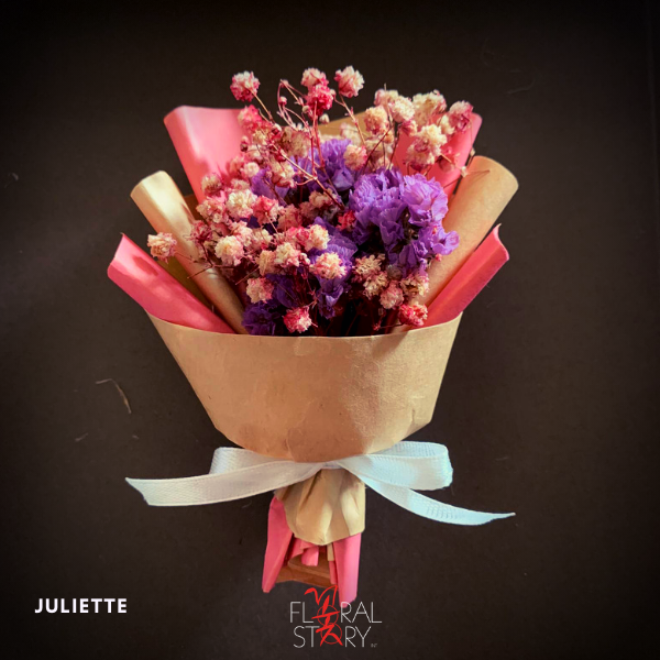 Juliette ($25 Personalized Mini Bouquet)