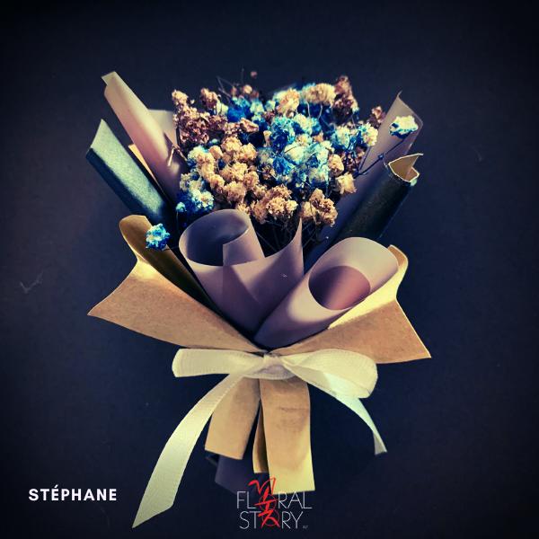 Stéphane ($25 Personalized Mini Bouquet)