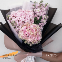 $175 Personalized Bouquet 사랑해