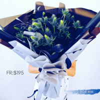 $165 Personalized Bouquet 사랑해