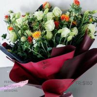 $180 Personalized Bouquet 사랑해