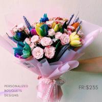 $235 Personalized Bouquet 사랑해