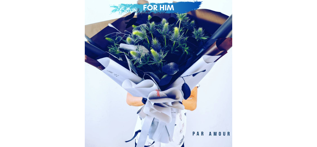 Personalized to Budget Homme Bouquet