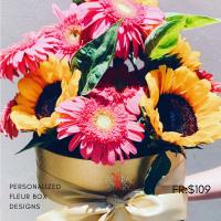 $200 Personalized Fleur Box  사랑해