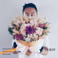$159 Personalized Fleur Box  사랑해