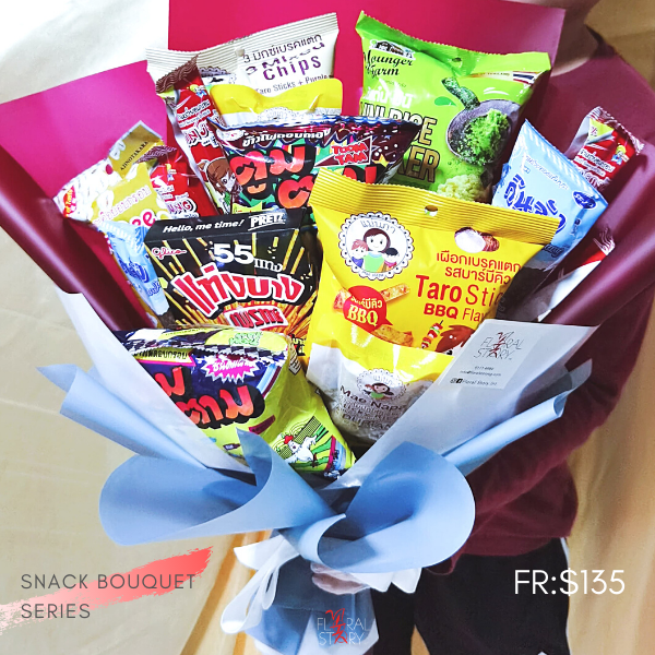$135 Personalized THAI Snack Bouquet