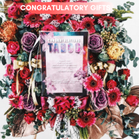Personalized Congratulatory Stand