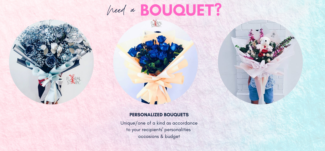 SHOP NOW FOR ALL BOUQUETS