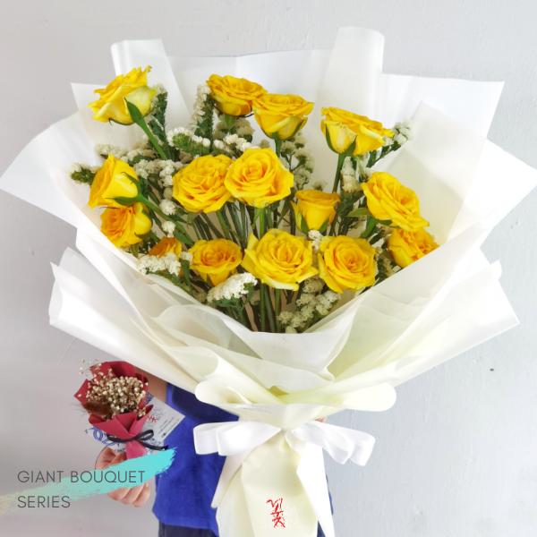$155 Personalised Sun Rosei Bouquet