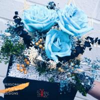 $180 Personalized Fleur Box  사랑해