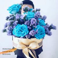 $215 Personalized Fleur Box  사랑해